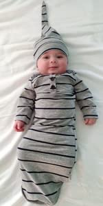 newborn baby nightgown