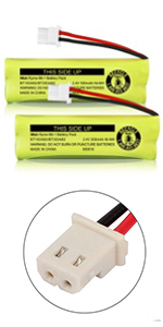 iMah Ryme B6-1 BT183482/BT283482 2.4V 500mAh Battery Pack