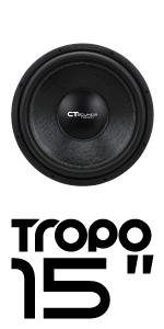 CT Sounds Tropo 15 inch Car Audio subwoofer