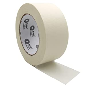 whitecolored masking tape wide width adhesive paper tape art arts crafts painter painter's kit