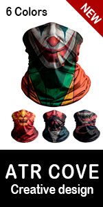 3D Face Covering Scarf