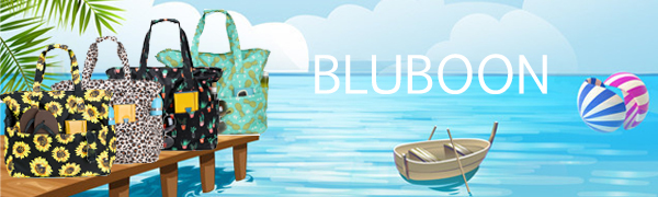BLUBOON Beach Tote Bag for Summer