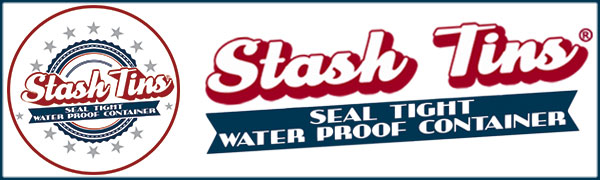 Stash Tins Seal Tight Water Proof Container