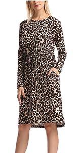 women Midi Dress With Pockets