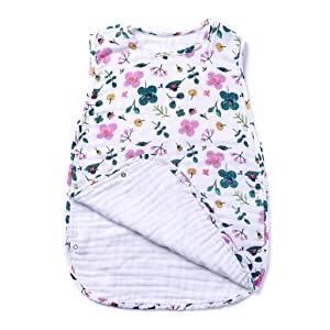 bamboo muslin sleeping sack