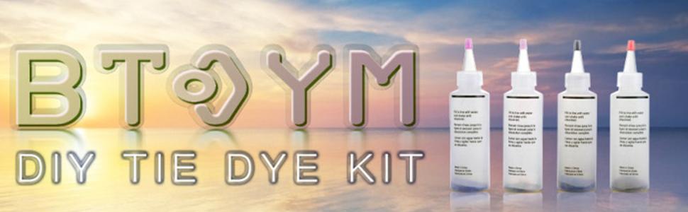 12/18 color tie dye kit
