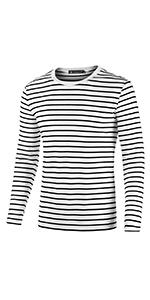 Long Sleeves Striped T Shirt