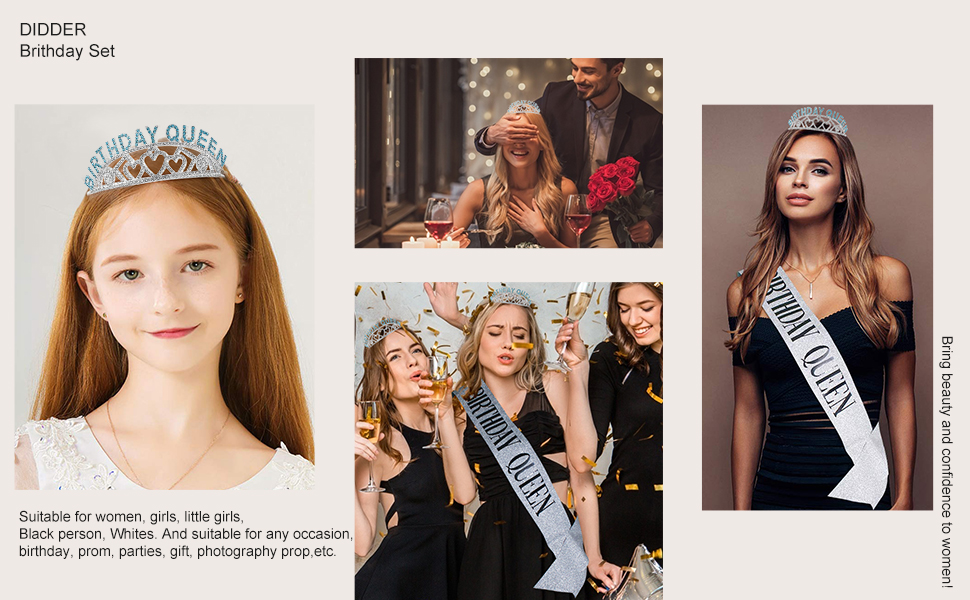 Tiaras and Crowns for Women Girls