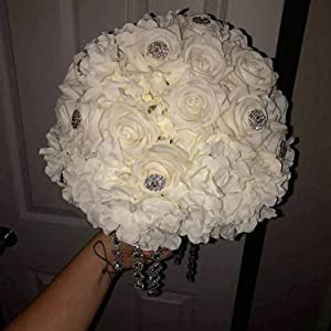 wedding party DYI flowers ball