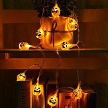 Halloween Pumpkin Lantern lights