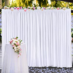 10 ft X 7 ft Backdrop Curtain