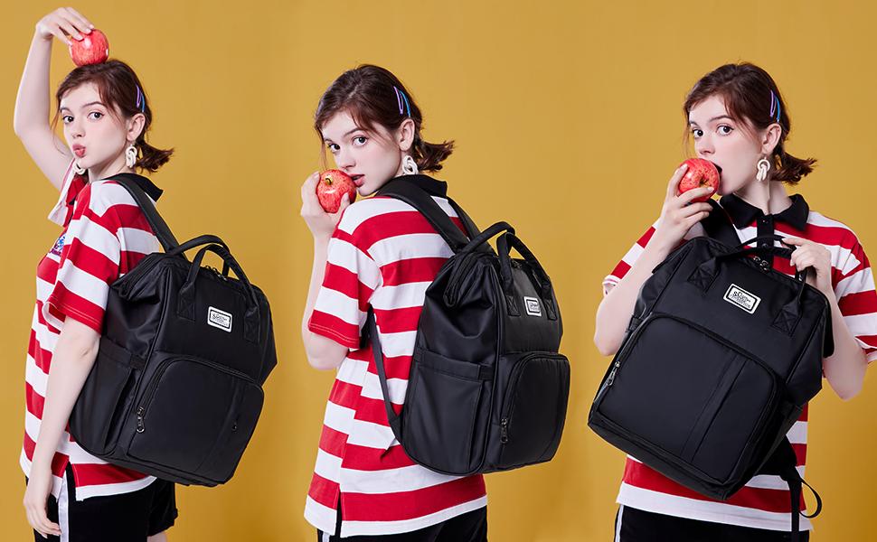 Fashion lady laptop backpack