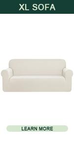 CHUN YI Rhombus Armless Sofa Slipcover