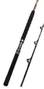 1-Piece/2-Piece Saltwater Offshore Heavy Trolling Rod