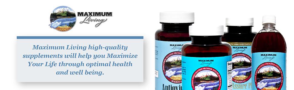 maximum living products
