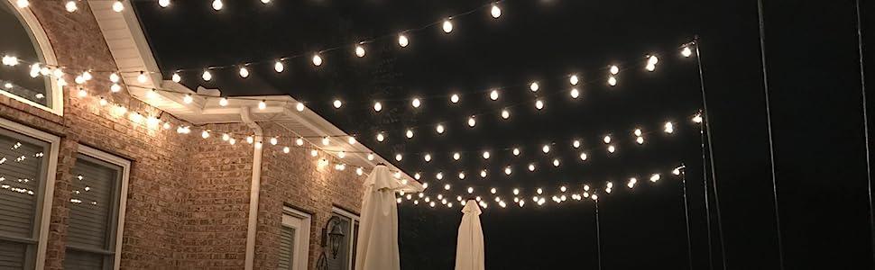 g50 bulbs outdoor string lights patio string lights