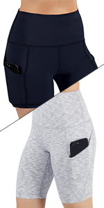High Waist Out Pocket Yoga Short