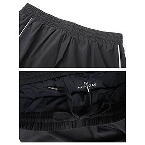 Men's Jersey Short with Pockets Shorts ShortMen's 5 Inches Running Athletic Shorts Zipper Pocket