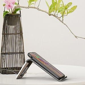 Tilt wireless charging stand