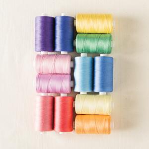 cotton thread set spool cone