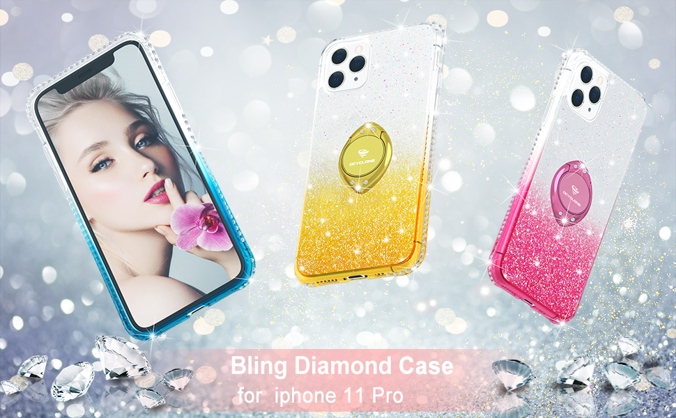 iPhone 11 pro Case Bling