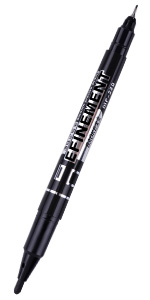 Permanent Markers Black