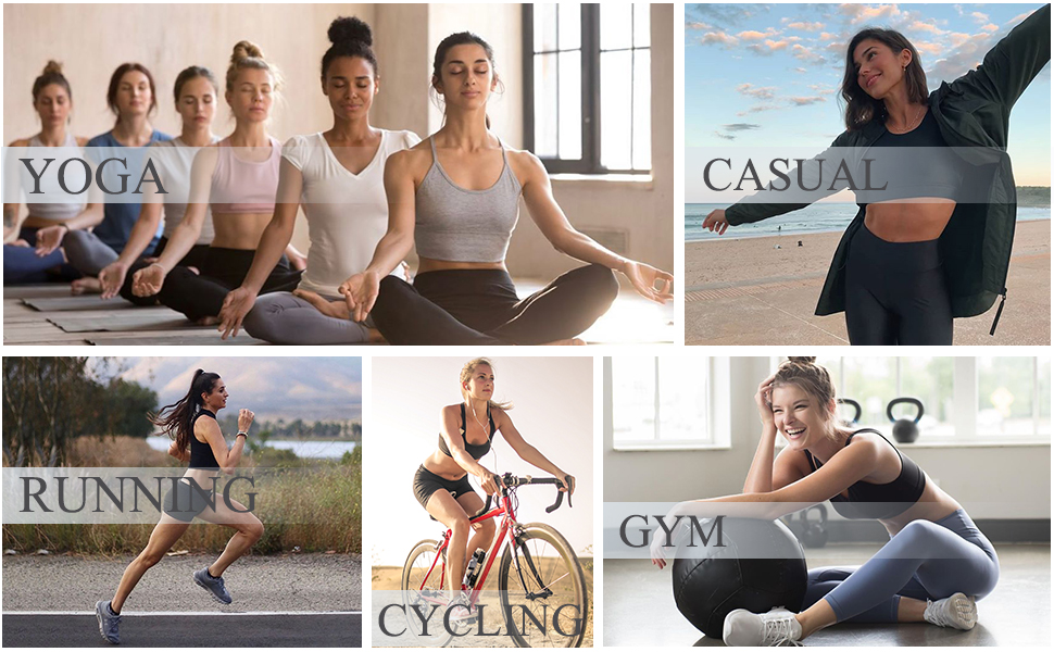 Women Fashion Street Workout Bra gym top yoga bra sport bra