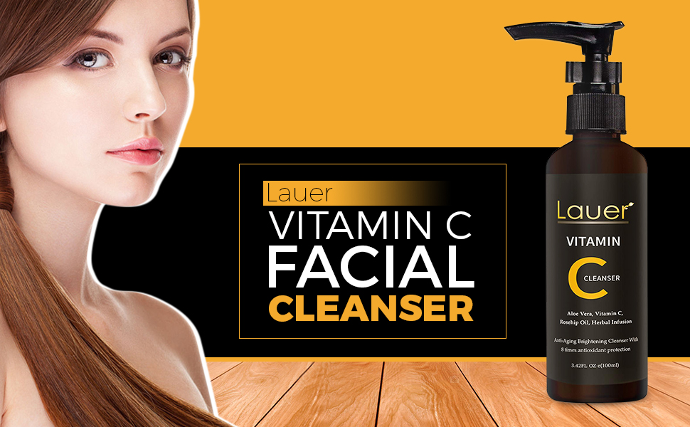 SPN-T2G Vitamin C Facial Cleanser | Anti Aging, Breakout & Blemish