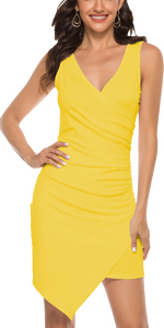 ruched dress for women