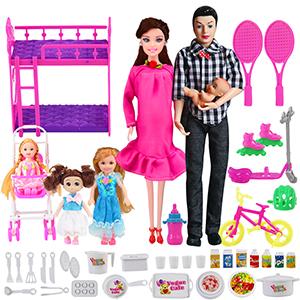 family doll set