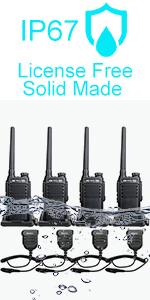 waterproof walkie yalkies