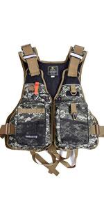 Fly Fishing Vest, Adjutable Size for Men and Women, Fishing Sling Pack/Fishing Backpack