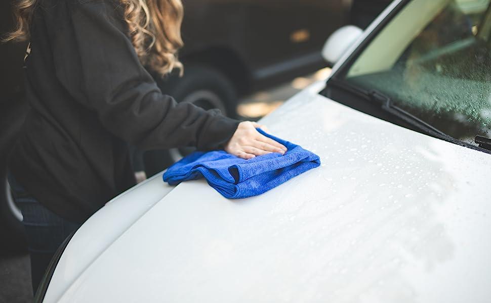 Microfiber Car Wash Towel The Rag Company
