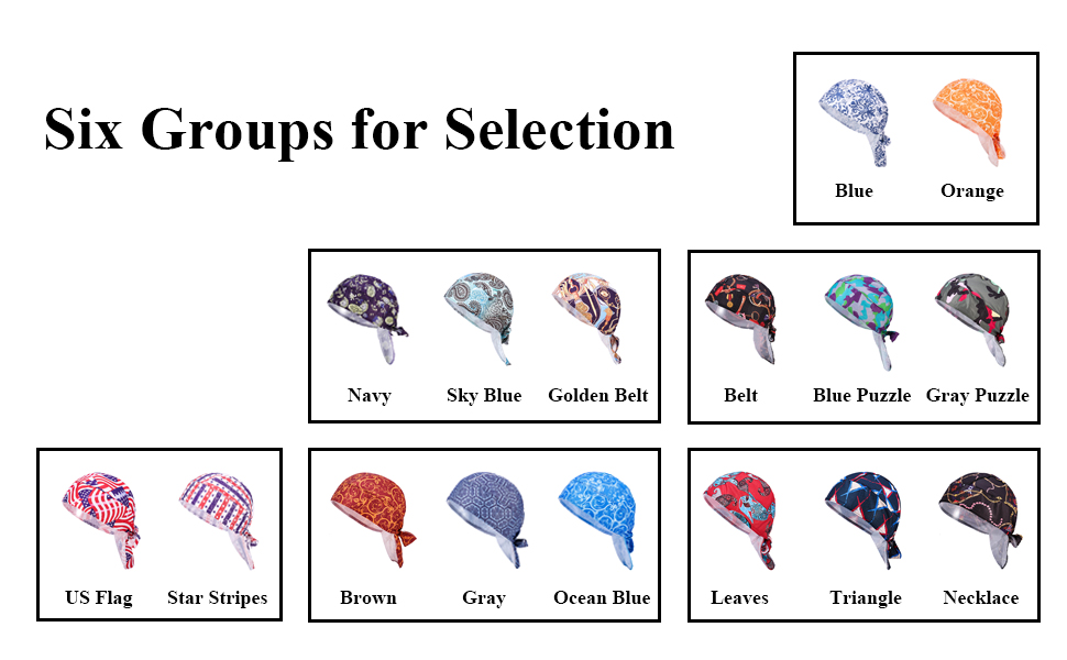 Six Groups for Selection