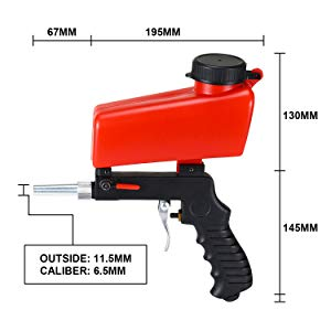 pneumatic sand blaster