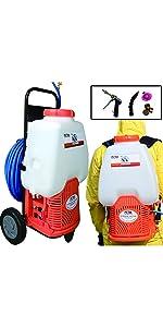 backpack cart sprayer
