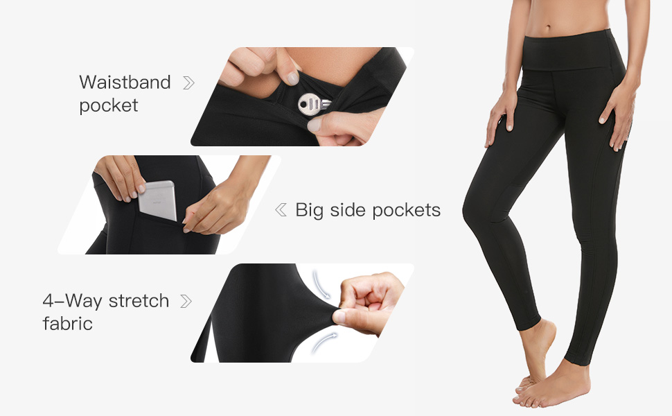 side pocket yoga leggings