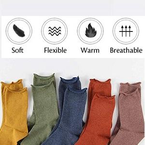 Women's Cotton Crew Socks