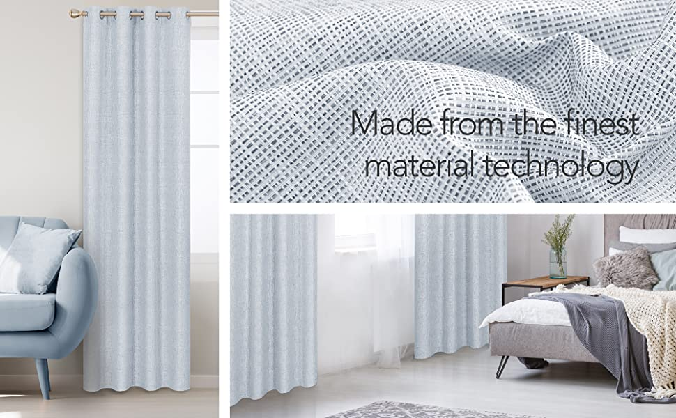 long blackout curtains