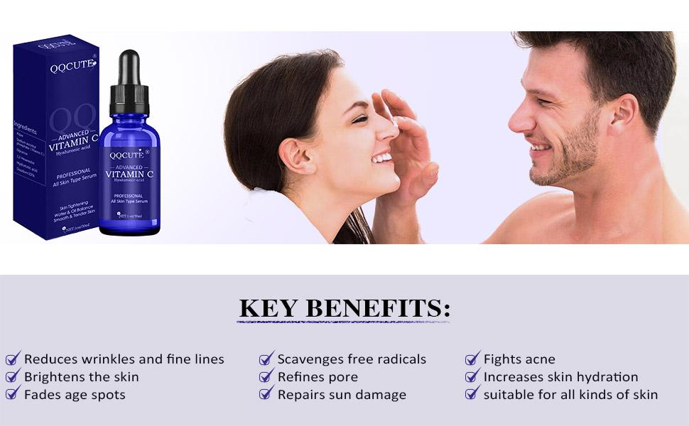 key benefits for skin