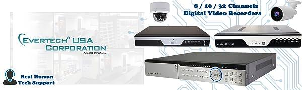 security system digital video recorder cctv recorder