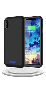 iPhone X charging case iPhone Xs battery case iphone xs charging case iphone x battery case