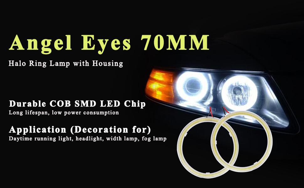 Angel Eyes 70MM White