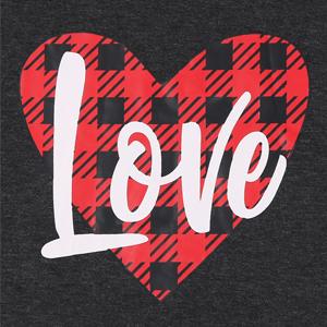 Love Graphic Print Shirt