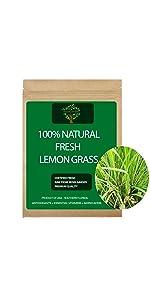 Fresh Lemongrass Stalk, Lemongrass rooted