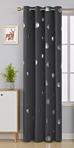 fan foil total blackout curtains