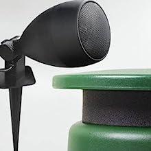speaker size range