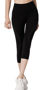 Women's High Waist Cropped Active Pants
