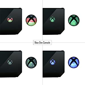 Xbox One Home Button Power Switch Stickers