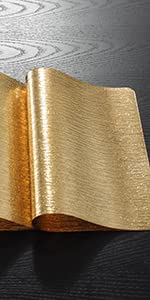 Placemats-Water Ripple-Gold